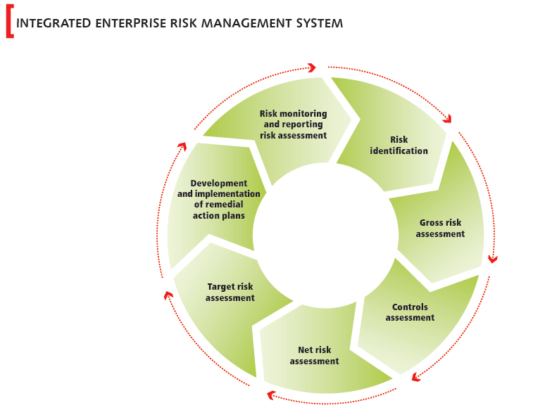 Integrated enterprise risk management system